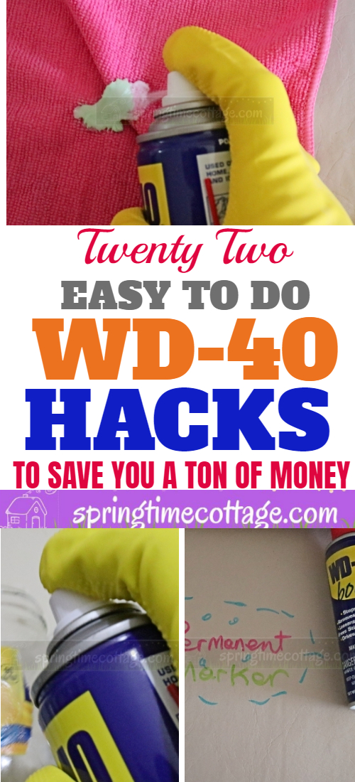 11 Smart Wd 40 Hacks For Your Home Amp Garden Springtime