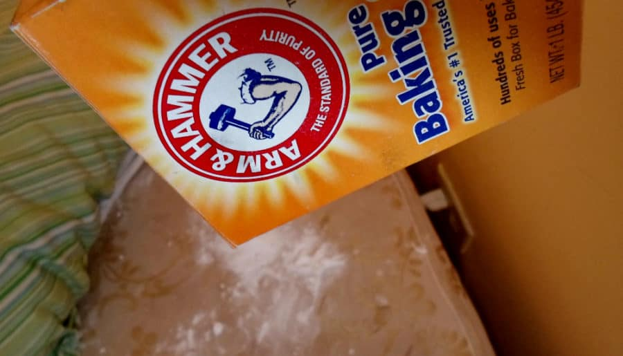 Pour Baking Soda On Your Mattress, Then watch what happens next