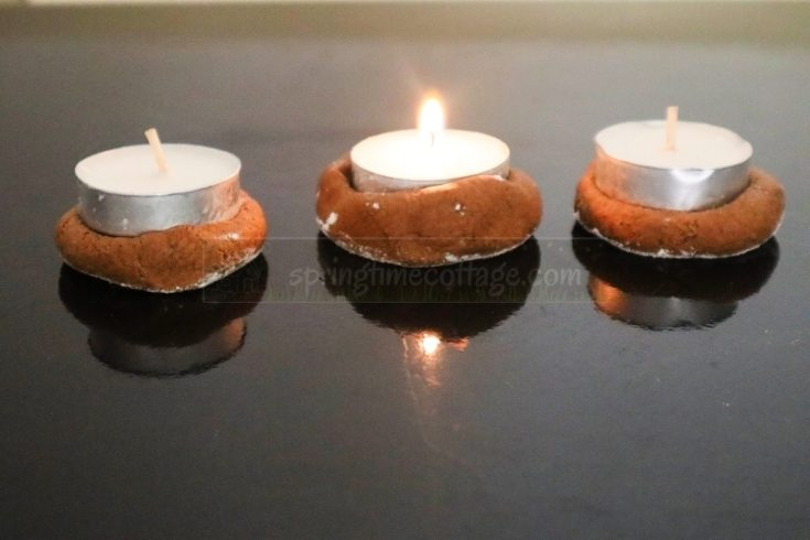 DIY Tealight Companion Or Tealight Cookies